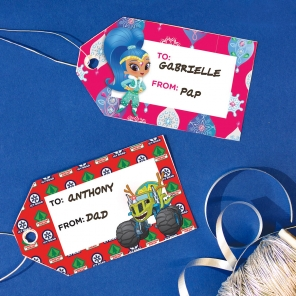 Decorate with Gift Tags