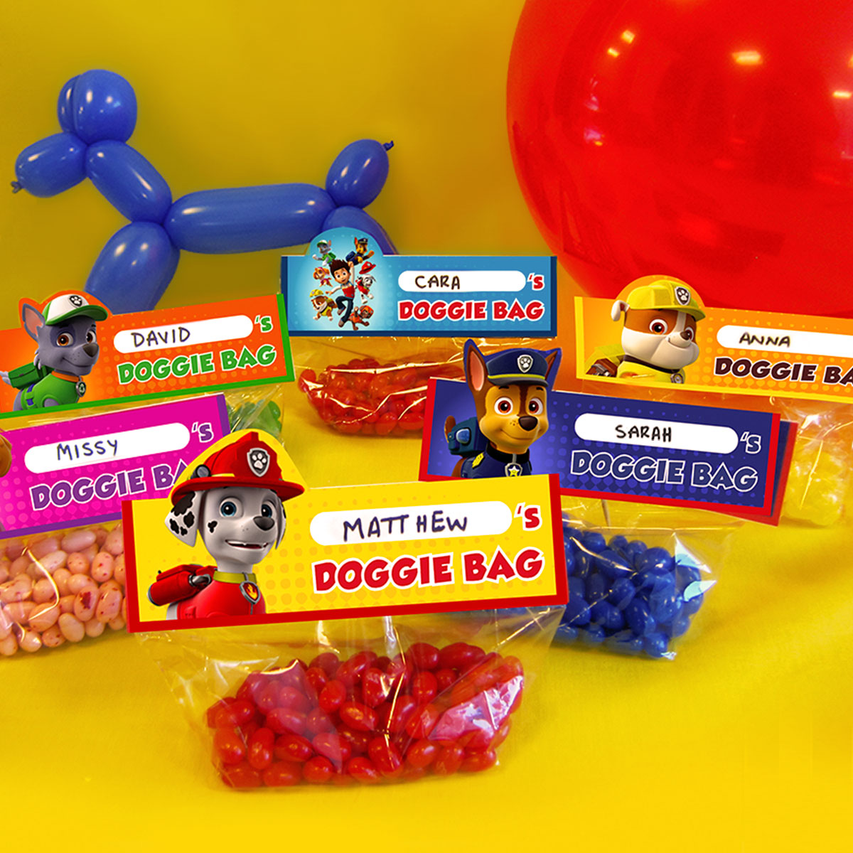 Make Your Own Paw Patrol Goody Bags Nickelodeon Parents