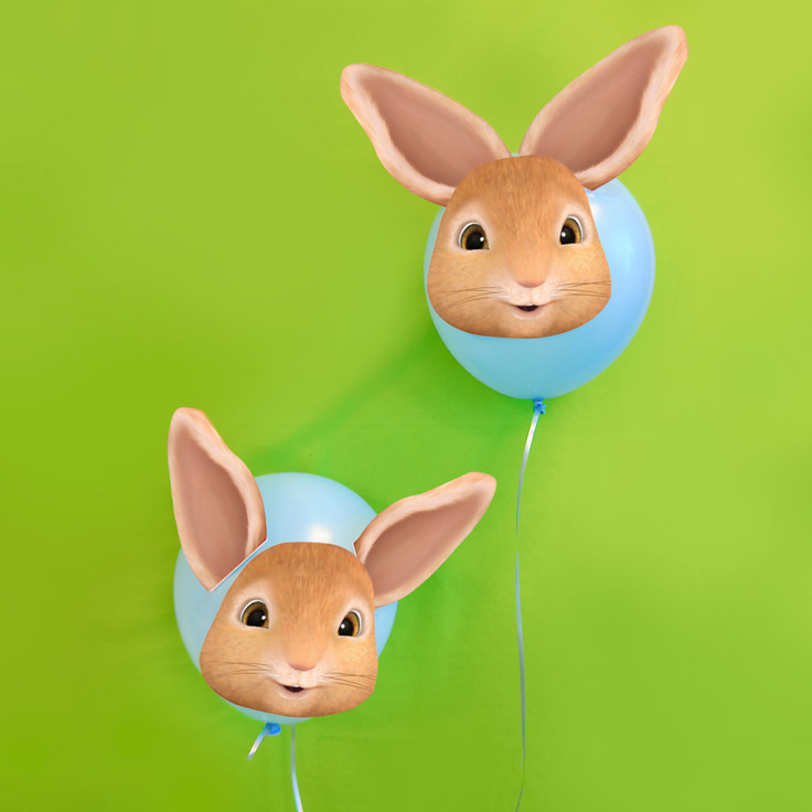 Peter Rabbit Balloon Décor