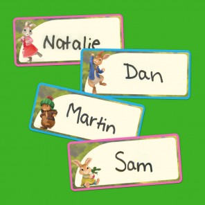 So Everybunny Knows Your Name Tags