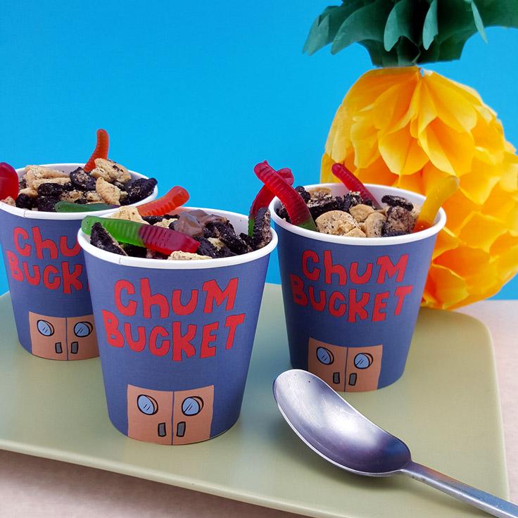 SaveSave To Pinterest SpongeBob Chum Buckets