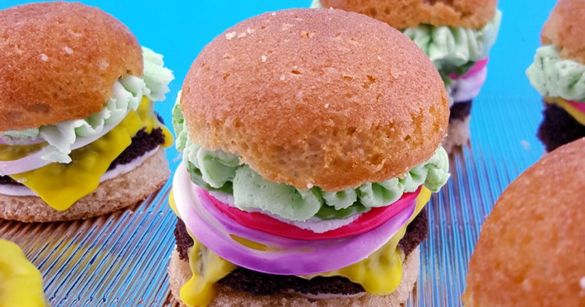 Spongebob Krabby Patty Cupcake Recipe Nickelodeon Parents