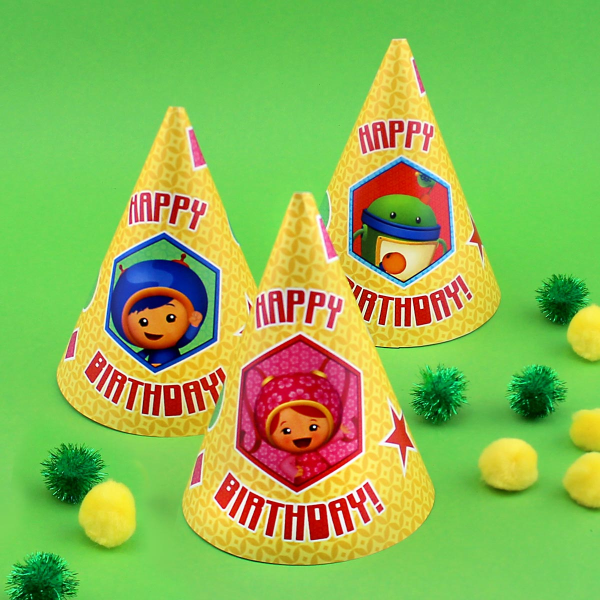 Umizoomi Party Hats