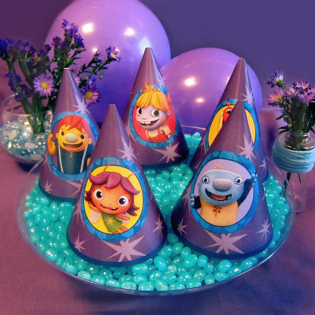 Wallykazam Party Hats