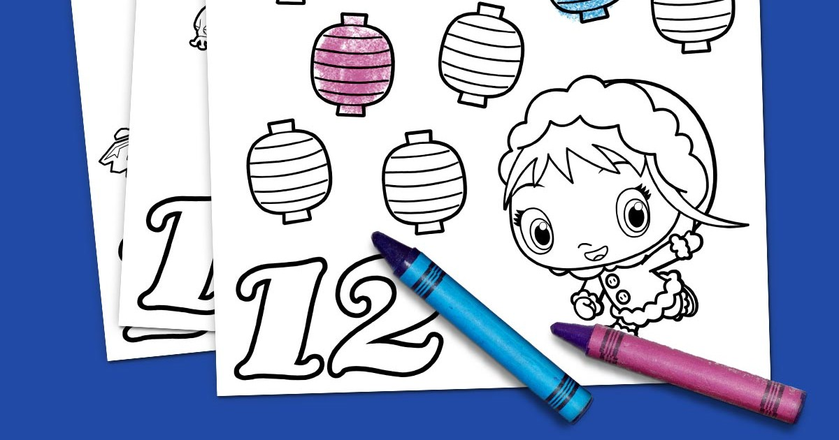 12 Days of Christmas Coloring Pack | Nickelodeon Parents