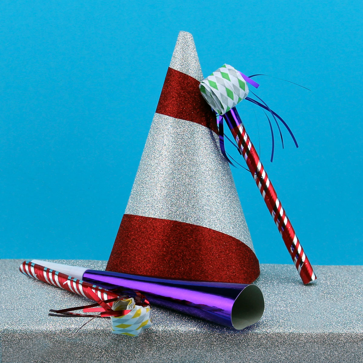Rocky's Recycled Party Hats