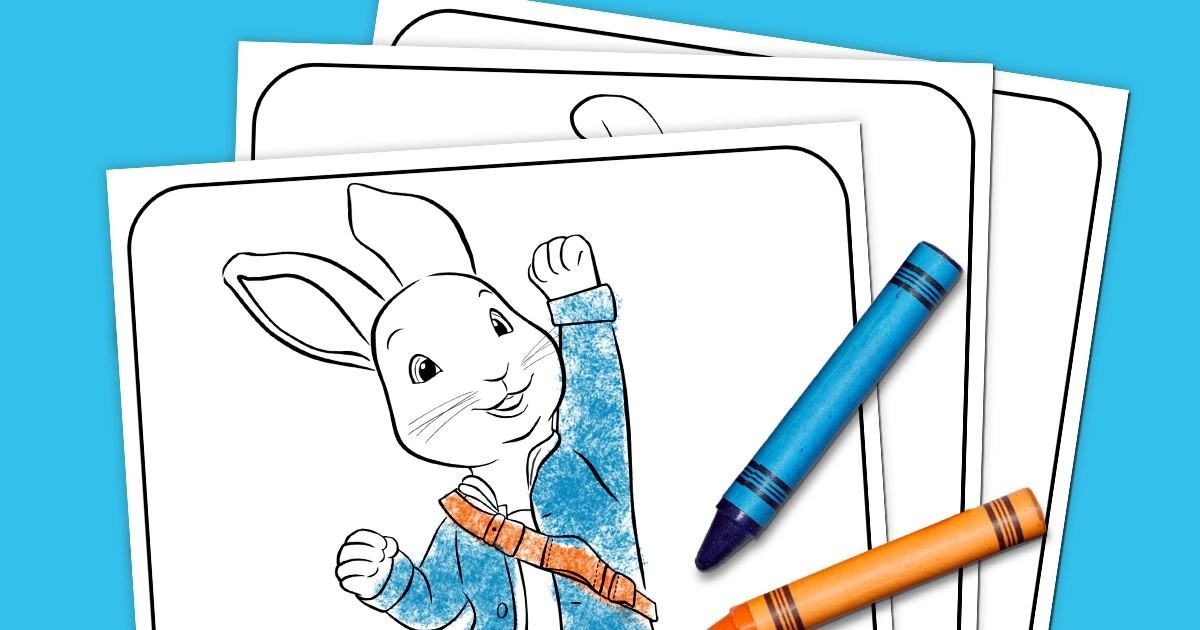 Peter Rabbit Coloring Pack Nickelodeon