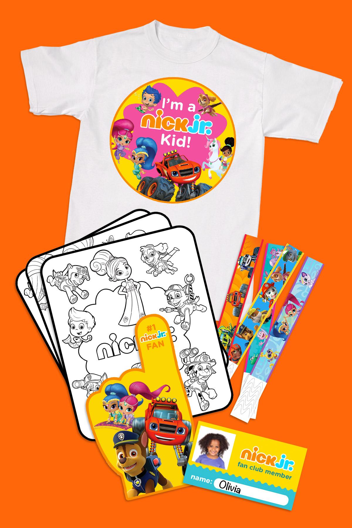 Print Your Nick Jr Fan Club Membership Kit Nickelodeon