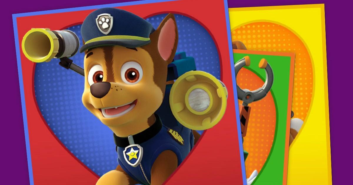 Paw Patrol Valentines Nickelodeon Parents