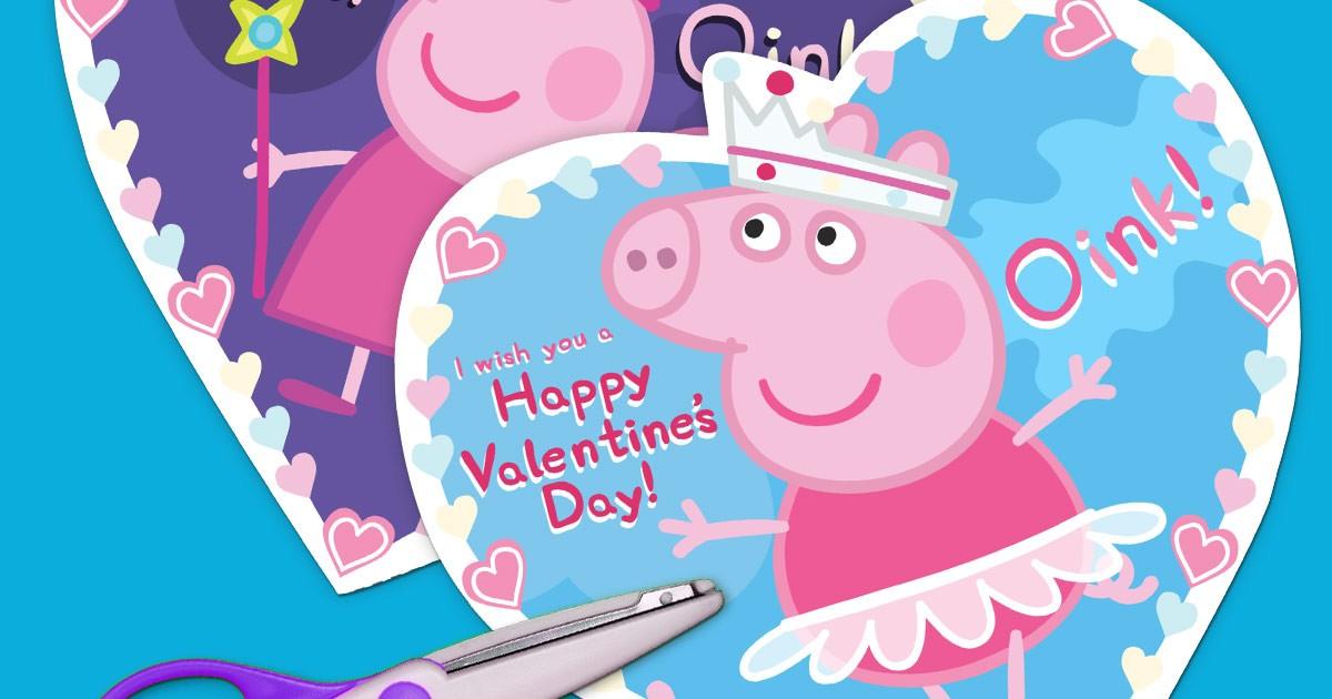 Peppa Pig Valentines Nickelodeon Parents