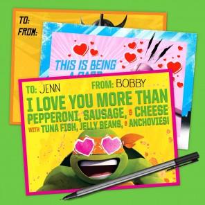 Tmnt Goody Bag Decals Nickelodeon Parents