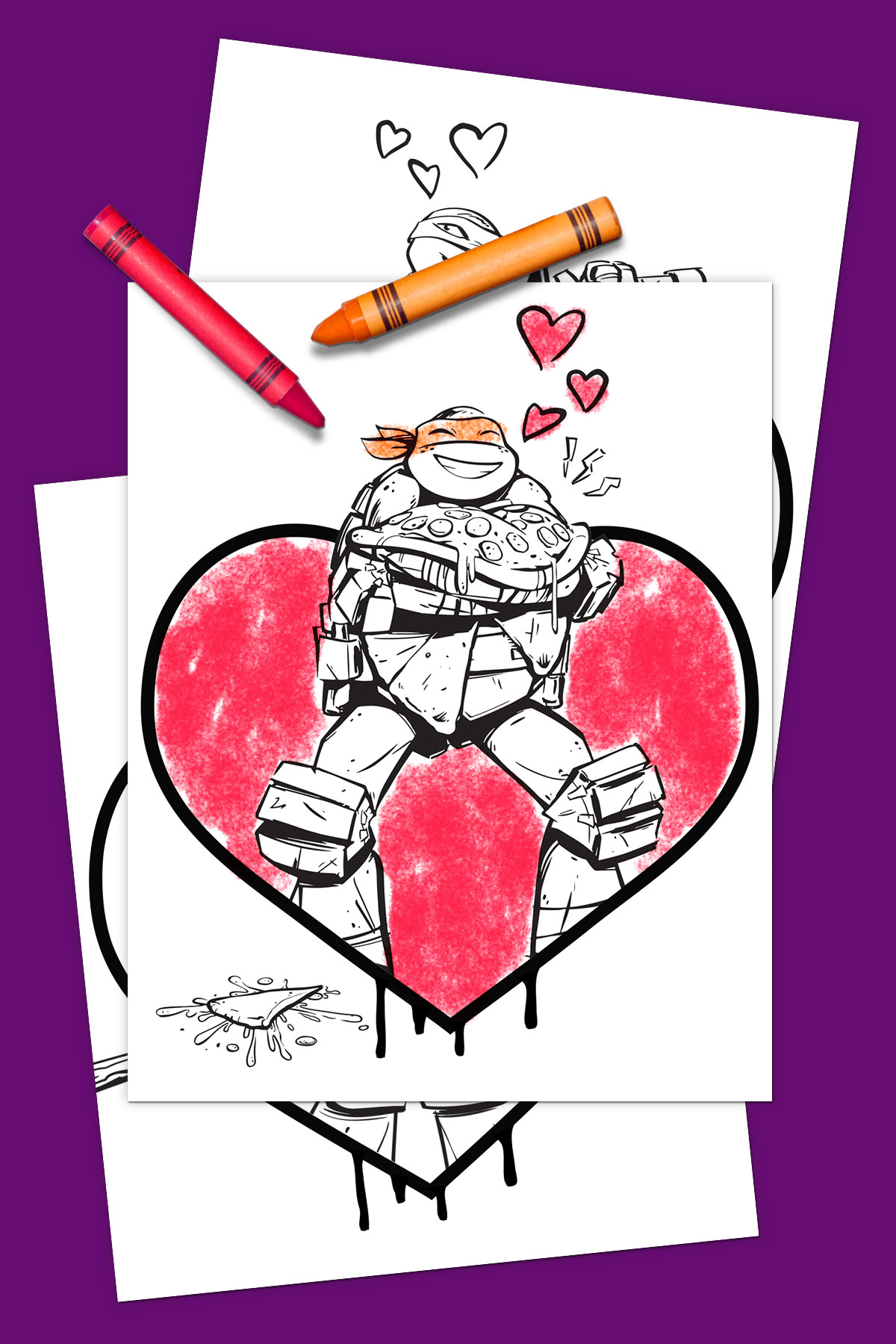 TMNT Val Day Pack