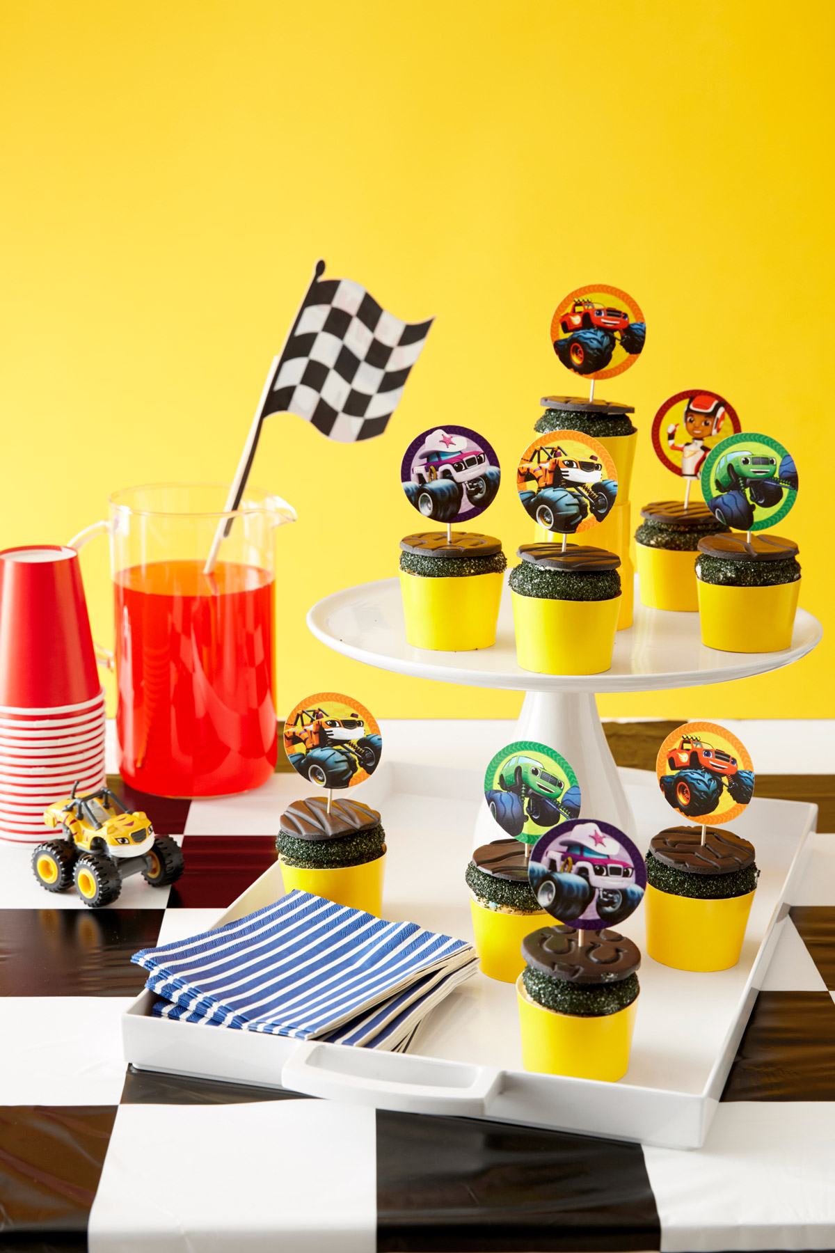 Blaze and the Monster Machines Cupcake Toppers