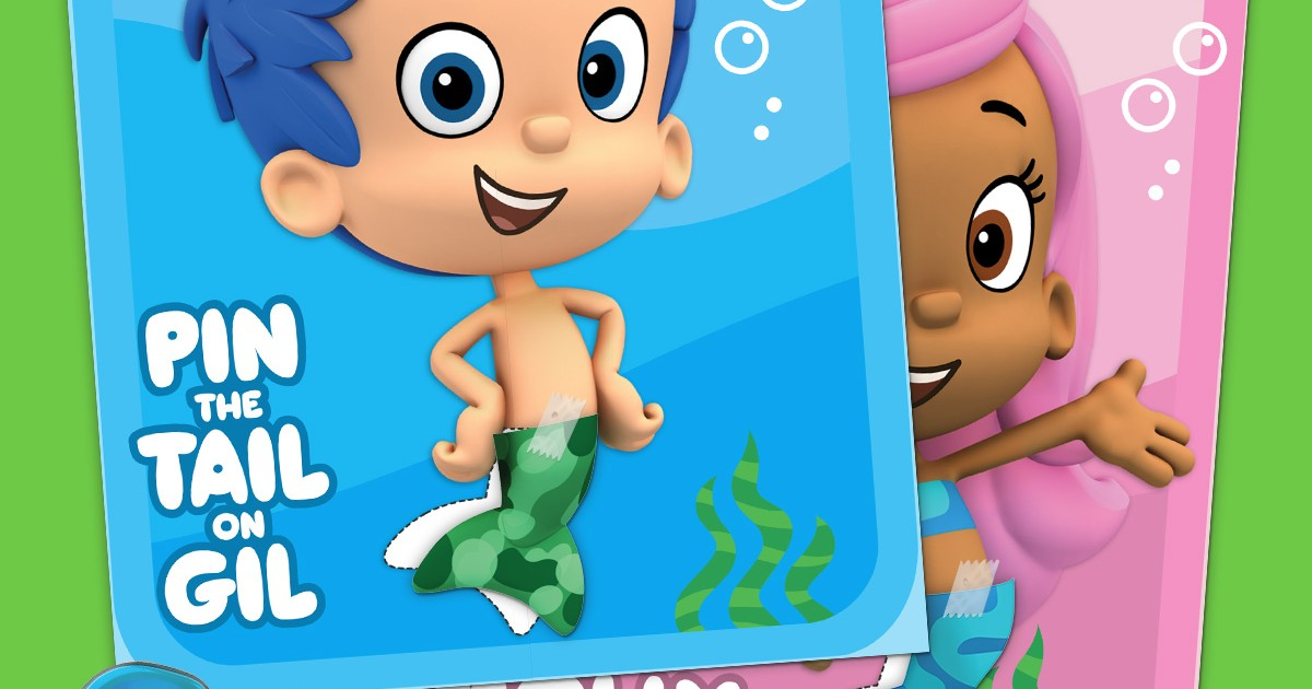 Pin The Tail On The Guppy Nickelodeon Parents