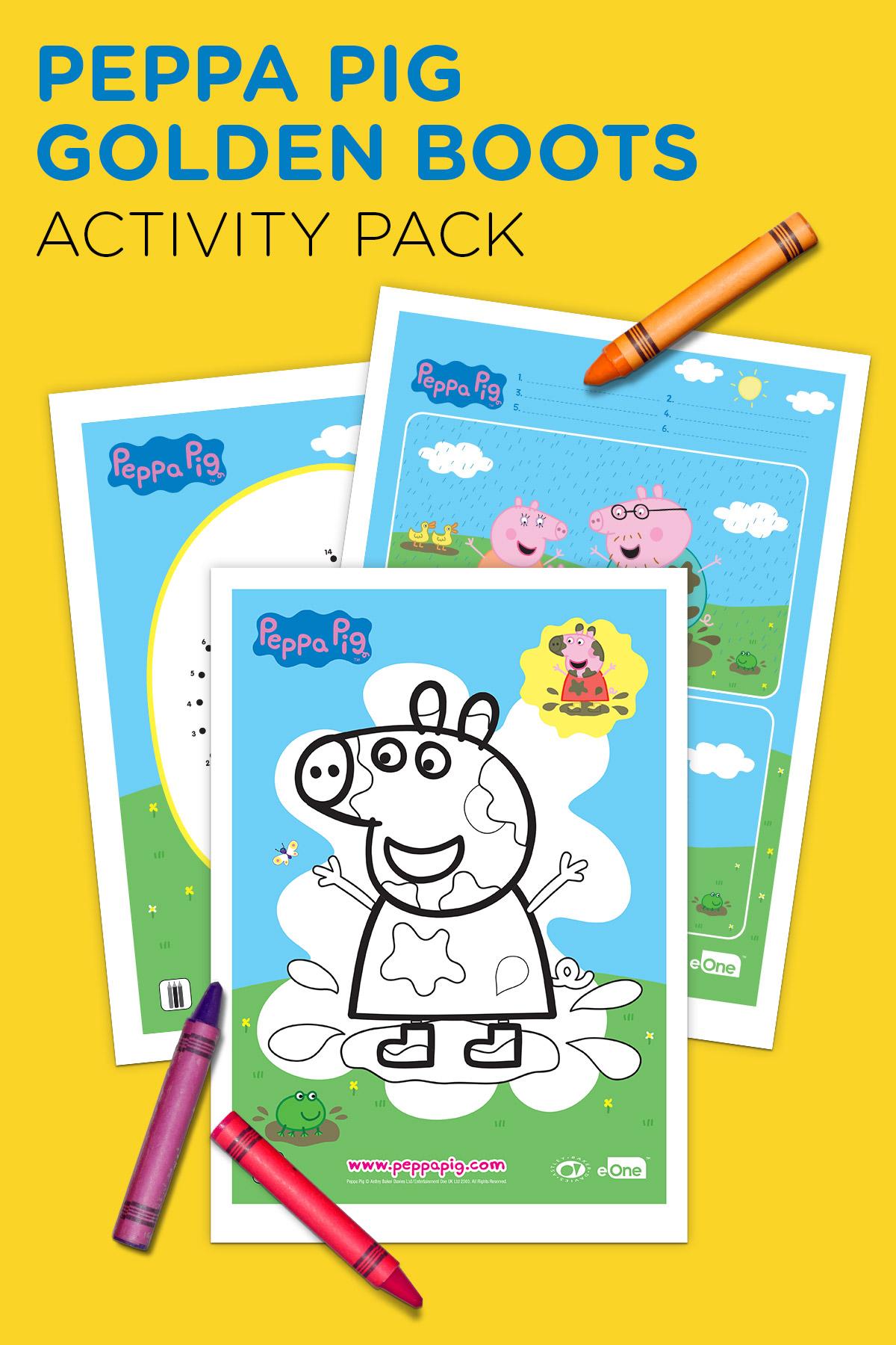 Peppa Free Printable Activity Pack
