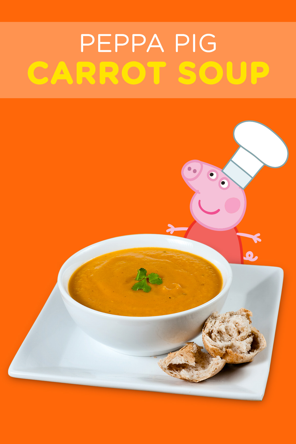 Peppa Pig Carrot Soup Recipe