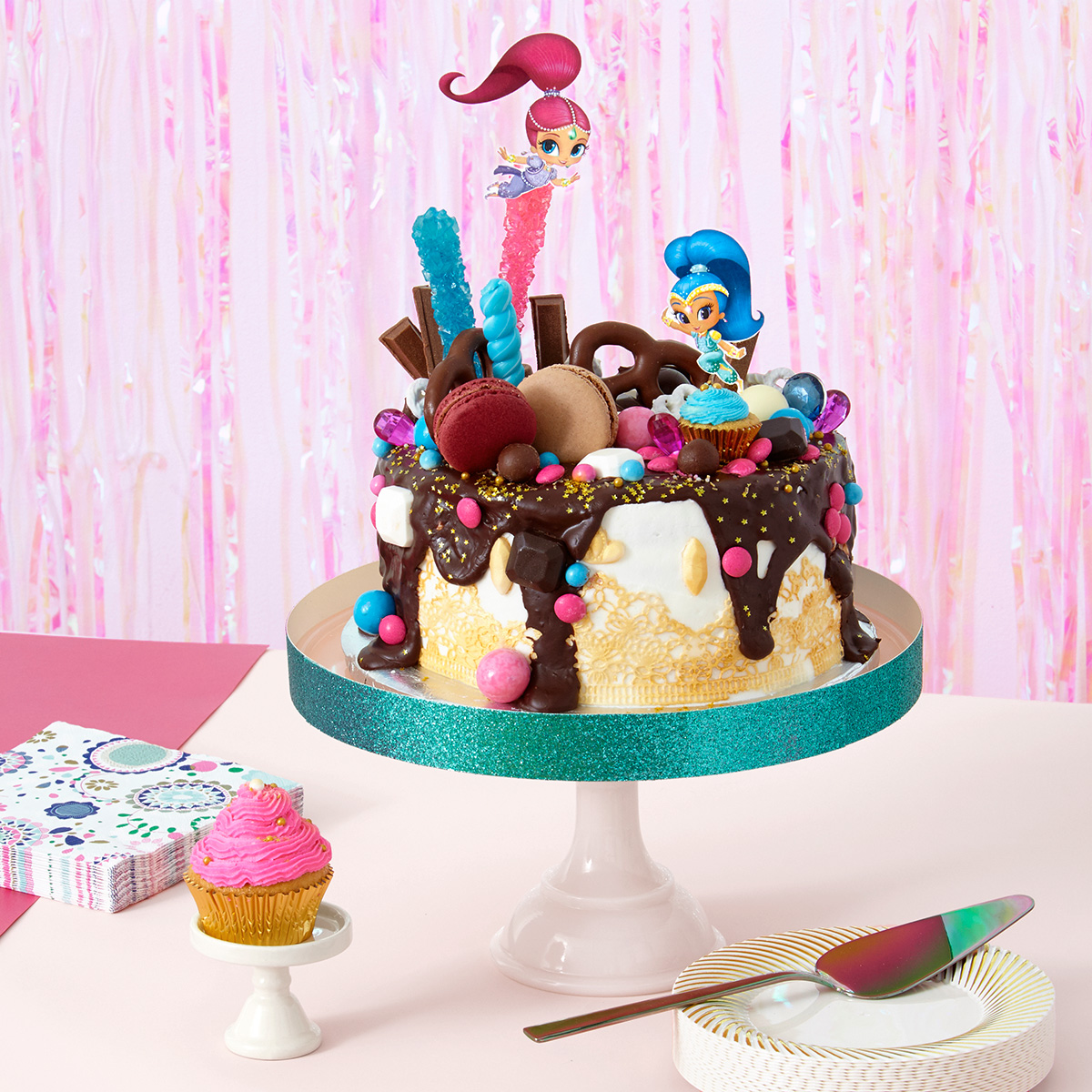 SaveSave To Pinterest Shimmer And Shine Oopsies Birthday Cake