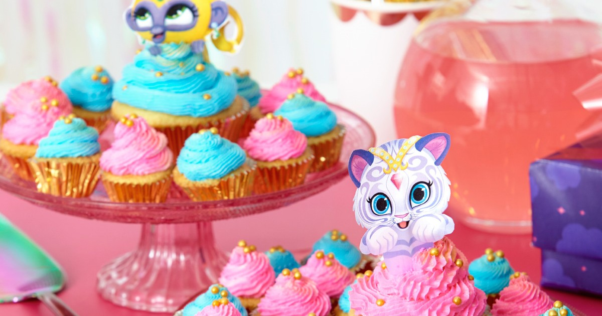 Shimmer And Shine Cupcake Toppers Nickelodeon Parents