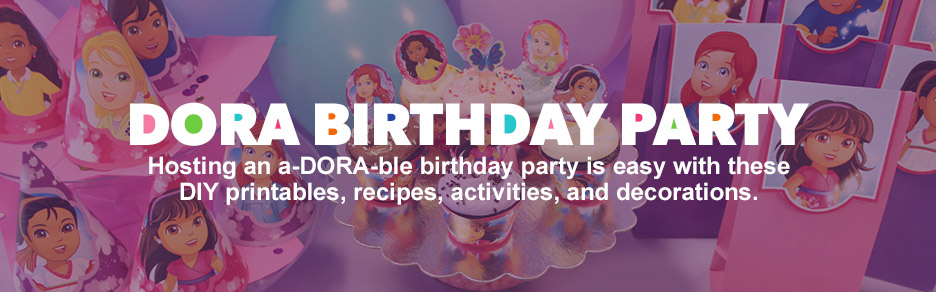 Dora Birthday Party Page 2 Nickelodeon Parents