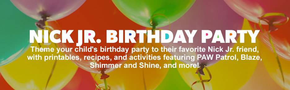 Nick Jr. Birthday Party