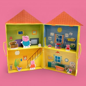 Peppa's Puppet Playhouse!