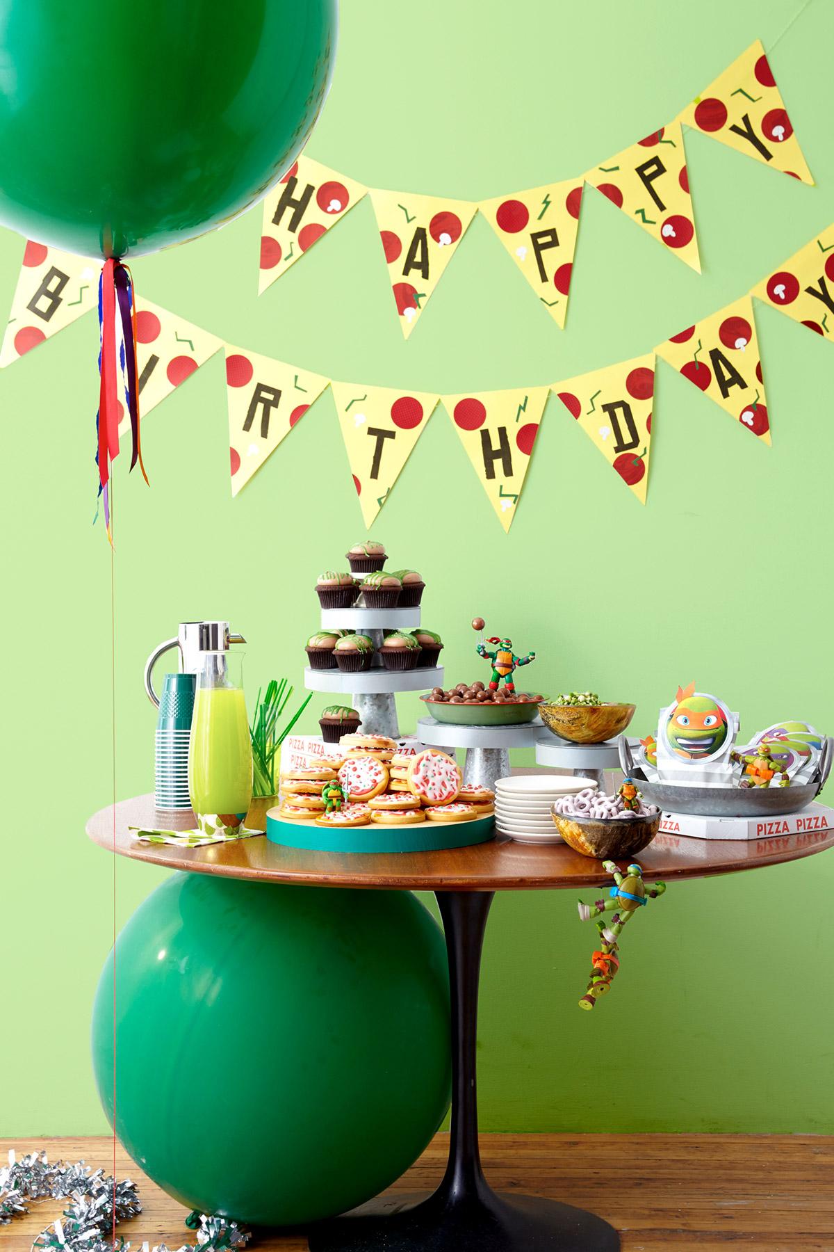 TMNT Birthday Party
