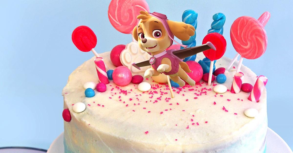 Paw Patrol Skye Birthday Cake Topper Nickelodeon Parents