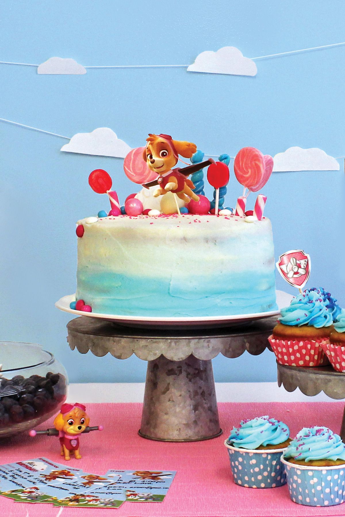 Everything You Need To Plan Your Kids Party Featuring Skye From PAW Patrol