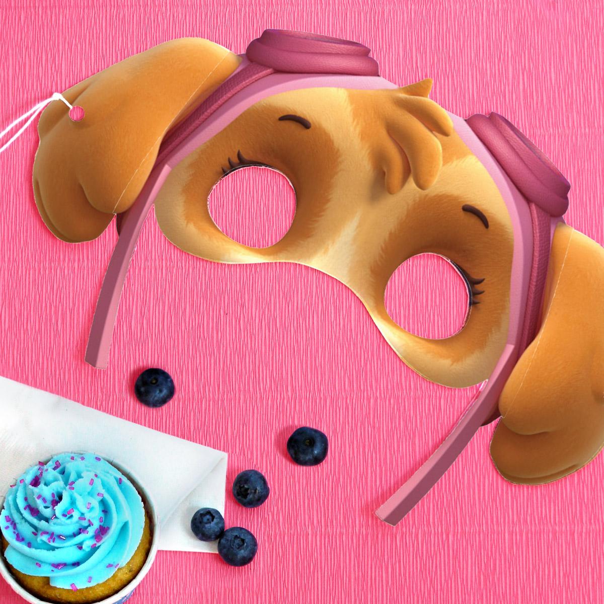 SaveSave To Pinterest PAW Patrol Skye Birthday Party Masks