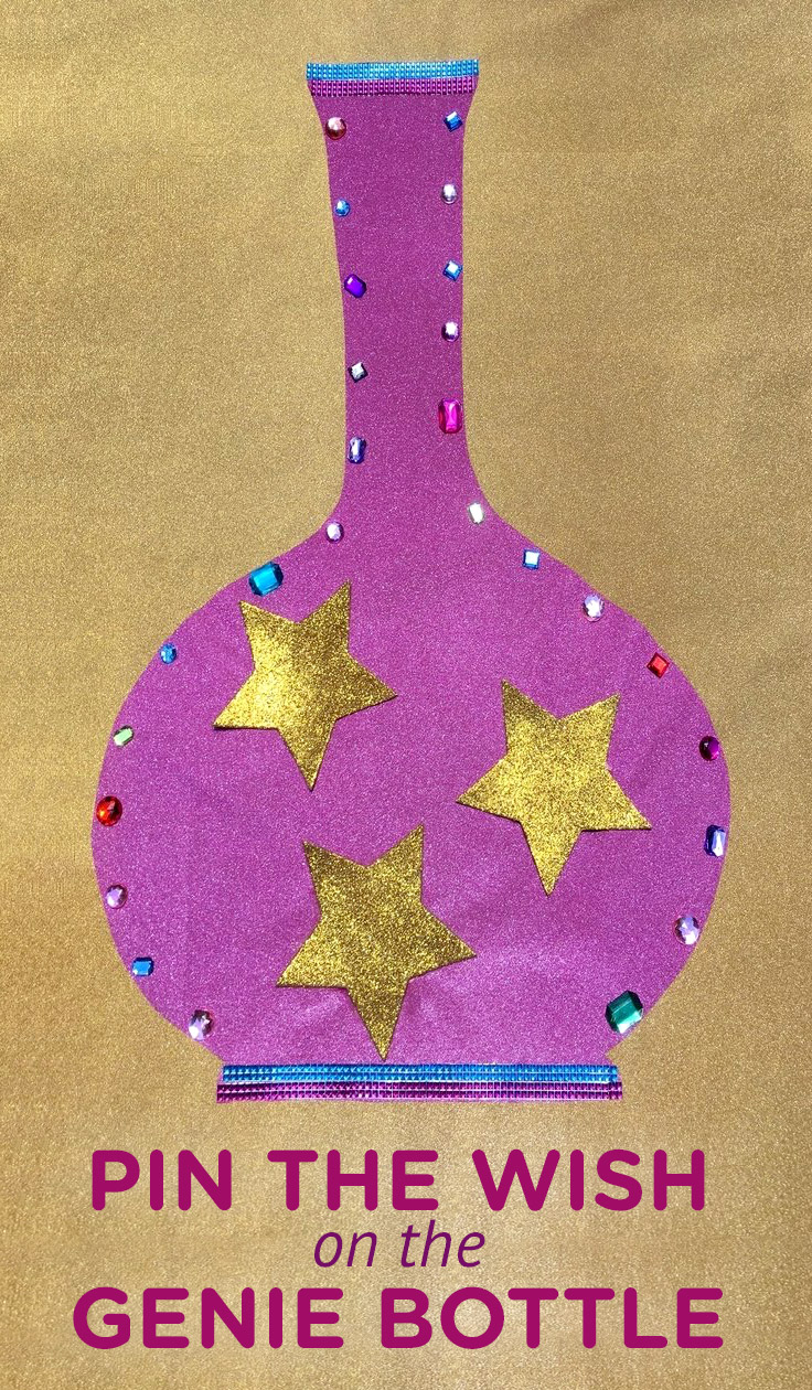 Shimmer and Shine Pin the Wish on the Genie Bottle Game
