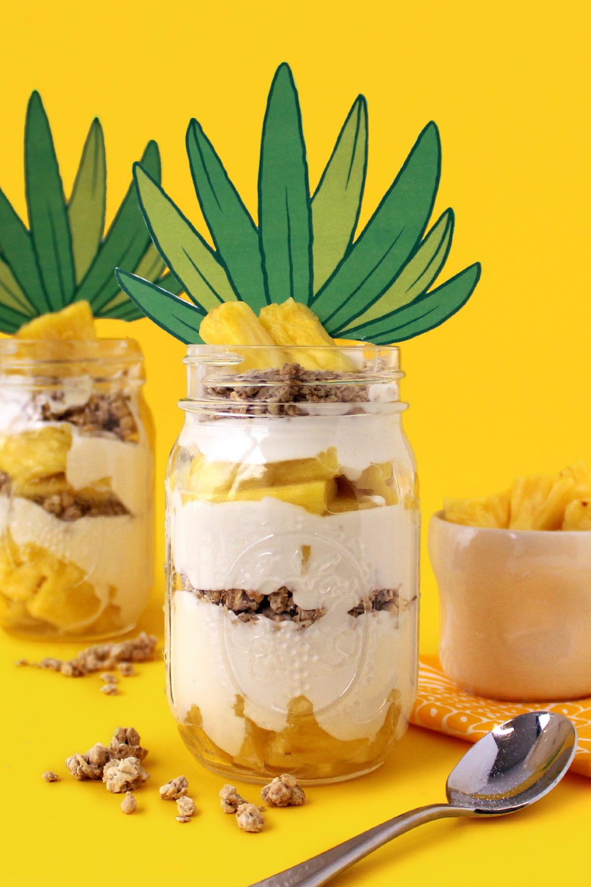 SpongeBob Pineapple Parfait Recipe