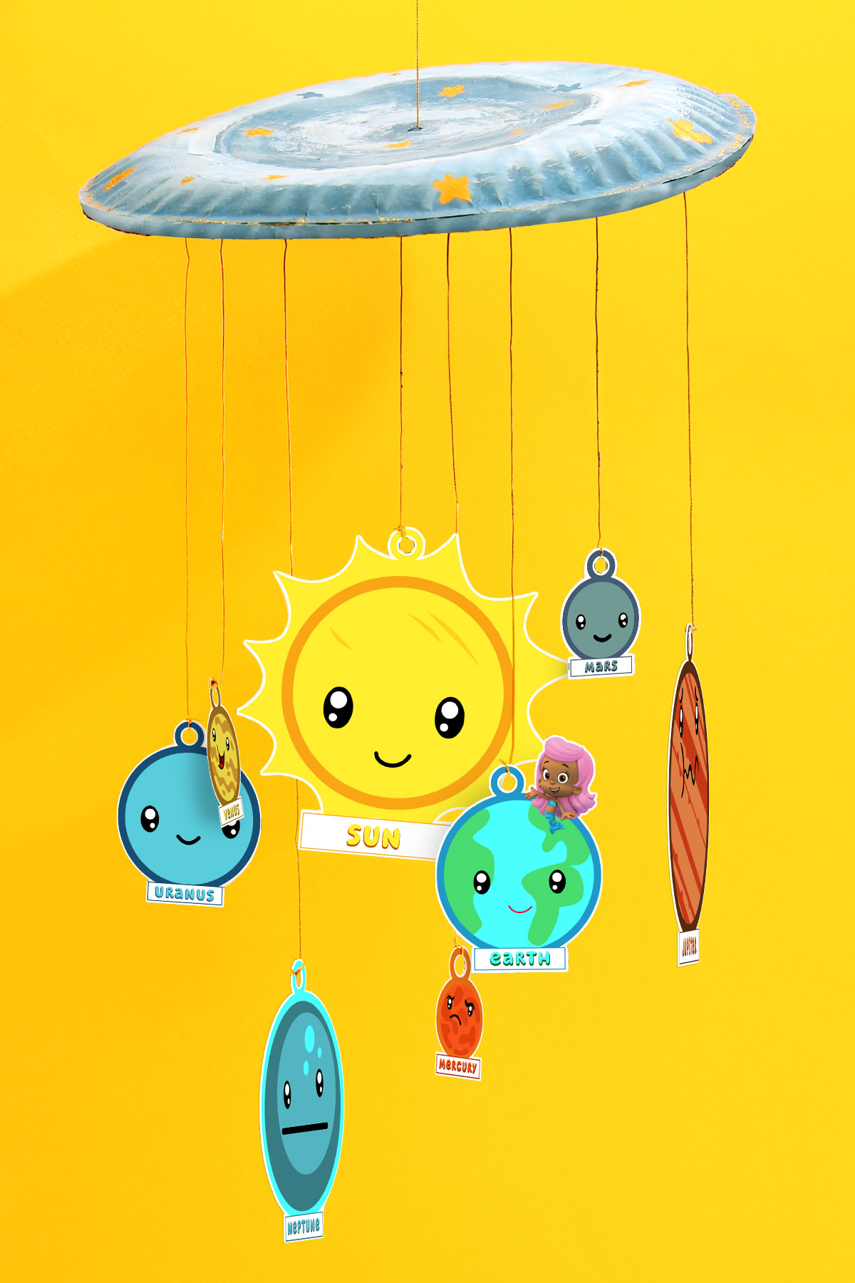 Bubble Guppies Solar System Craft | Nickelodeon Parents