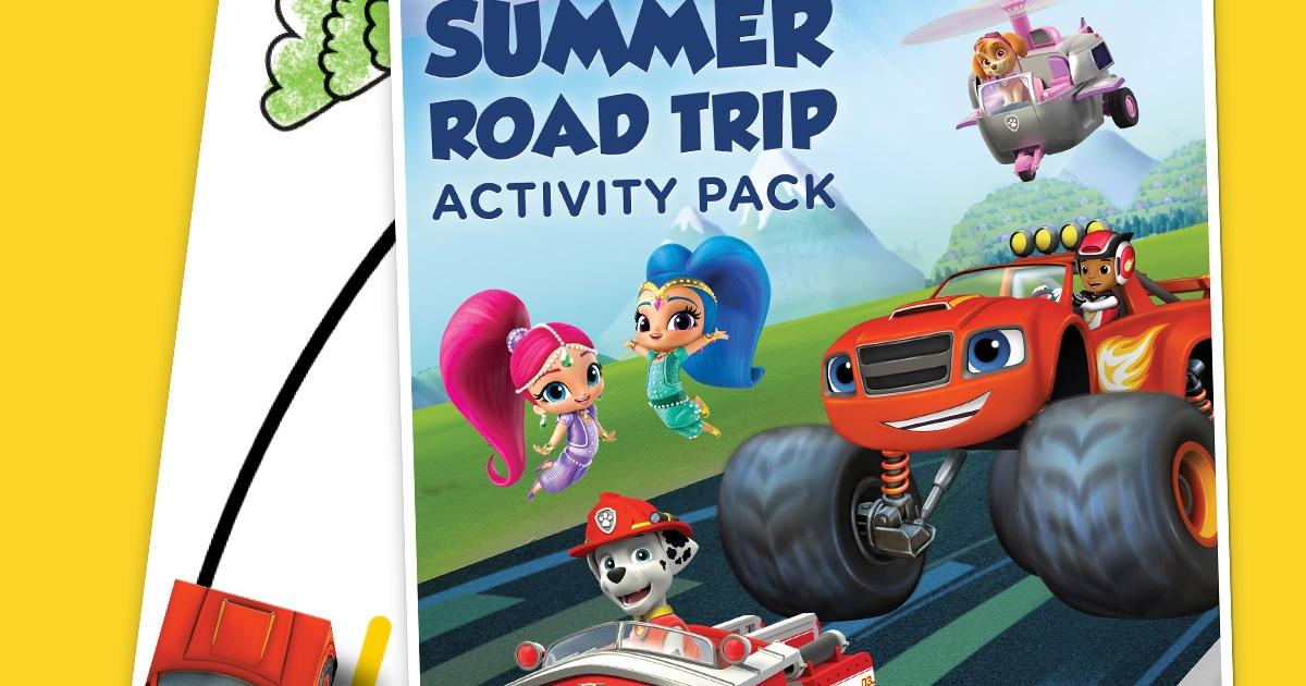 Fan Club Exclusive Summer Road Trip Pack Nickelodeon