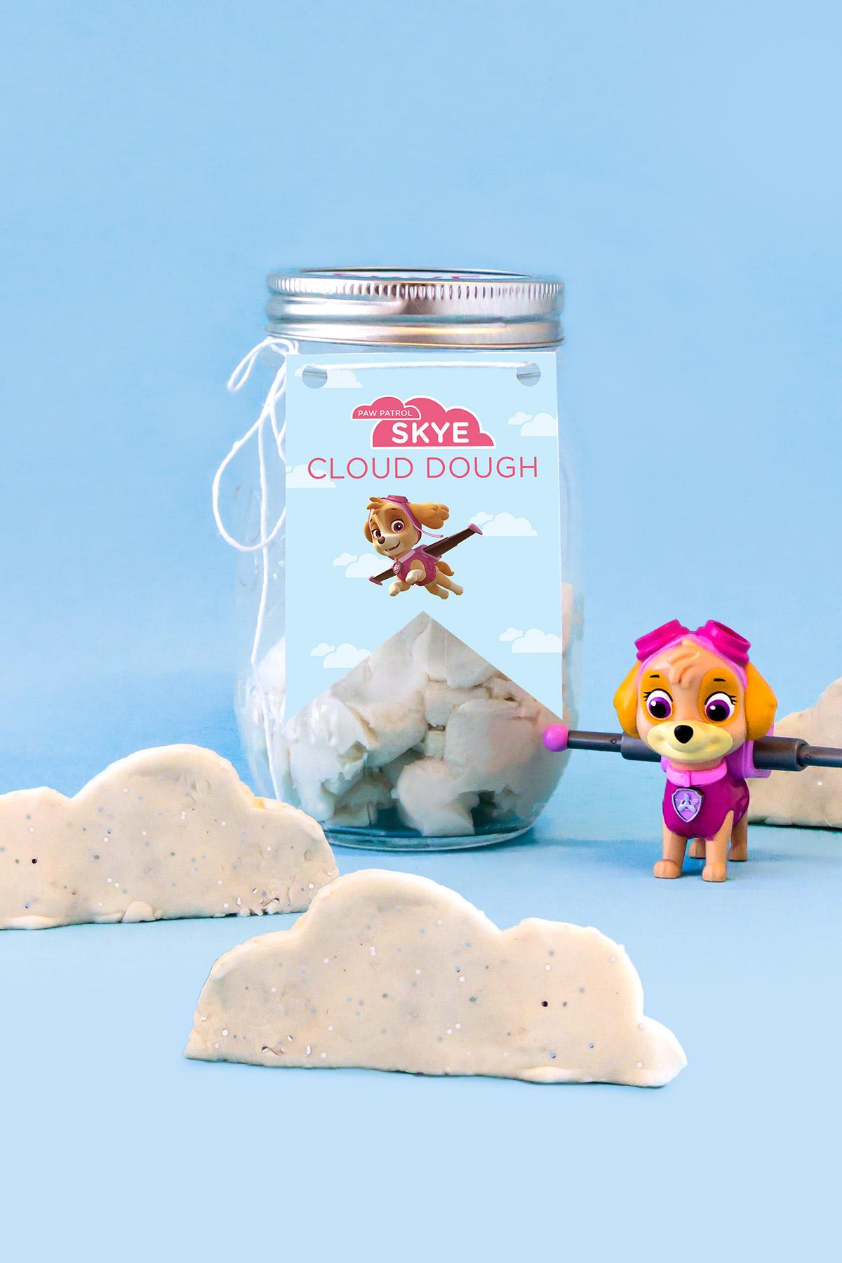 PAW Patrol Skye Cloud Dough