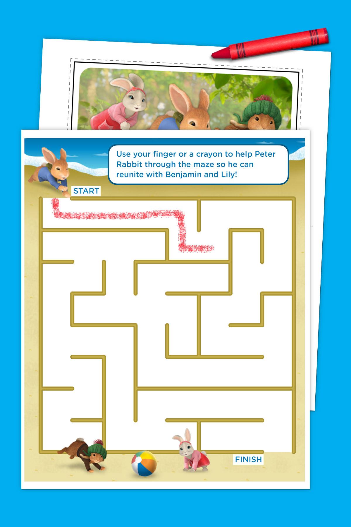Peter Rabbit Summer Activity Pack