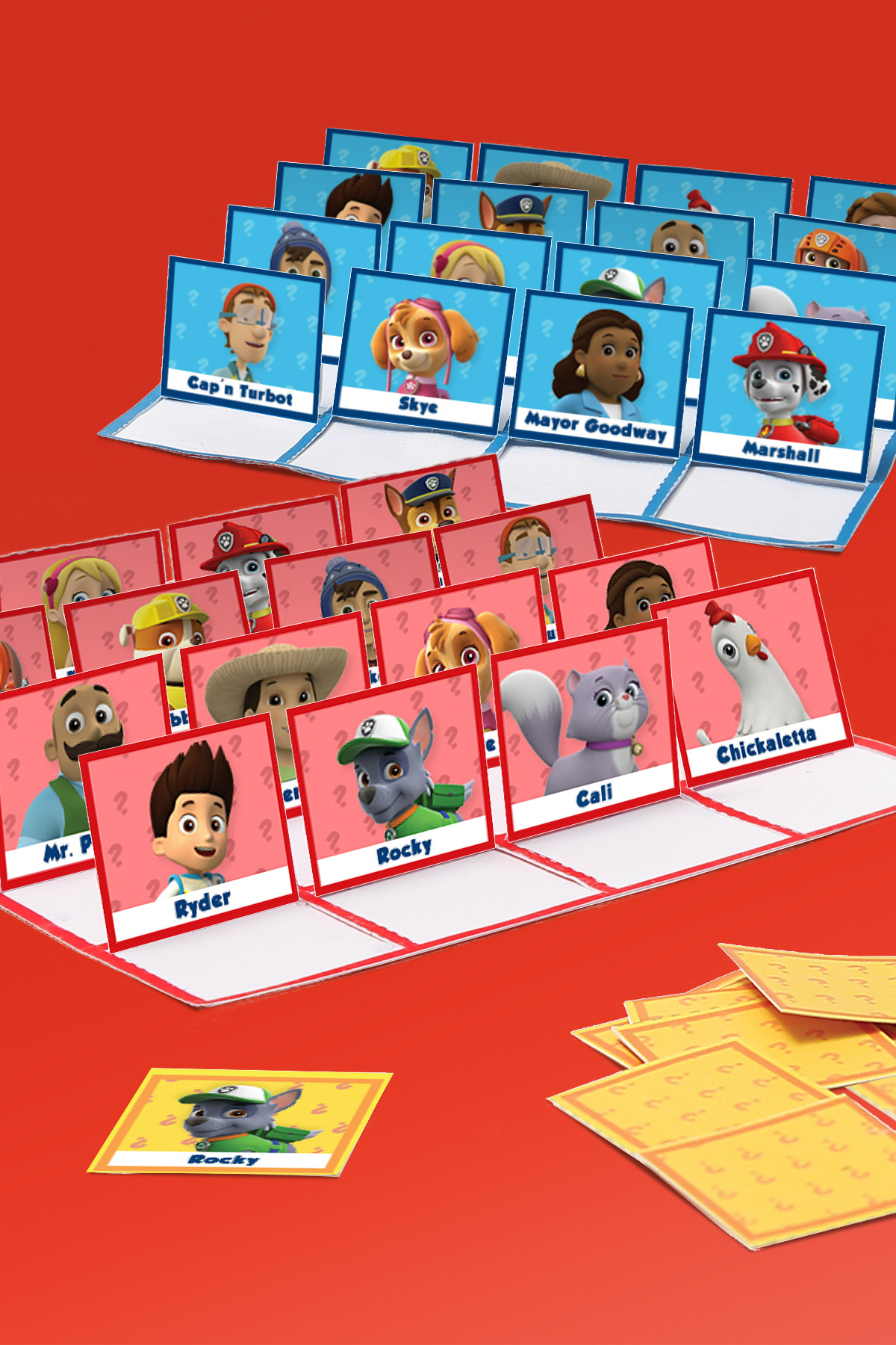 Paw Patrol Guess Who Game