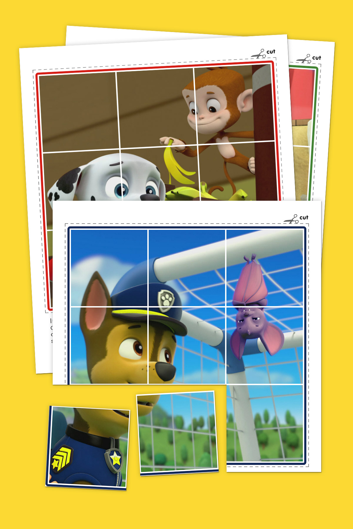 Animals of PAW Patrol Puzzle Pack