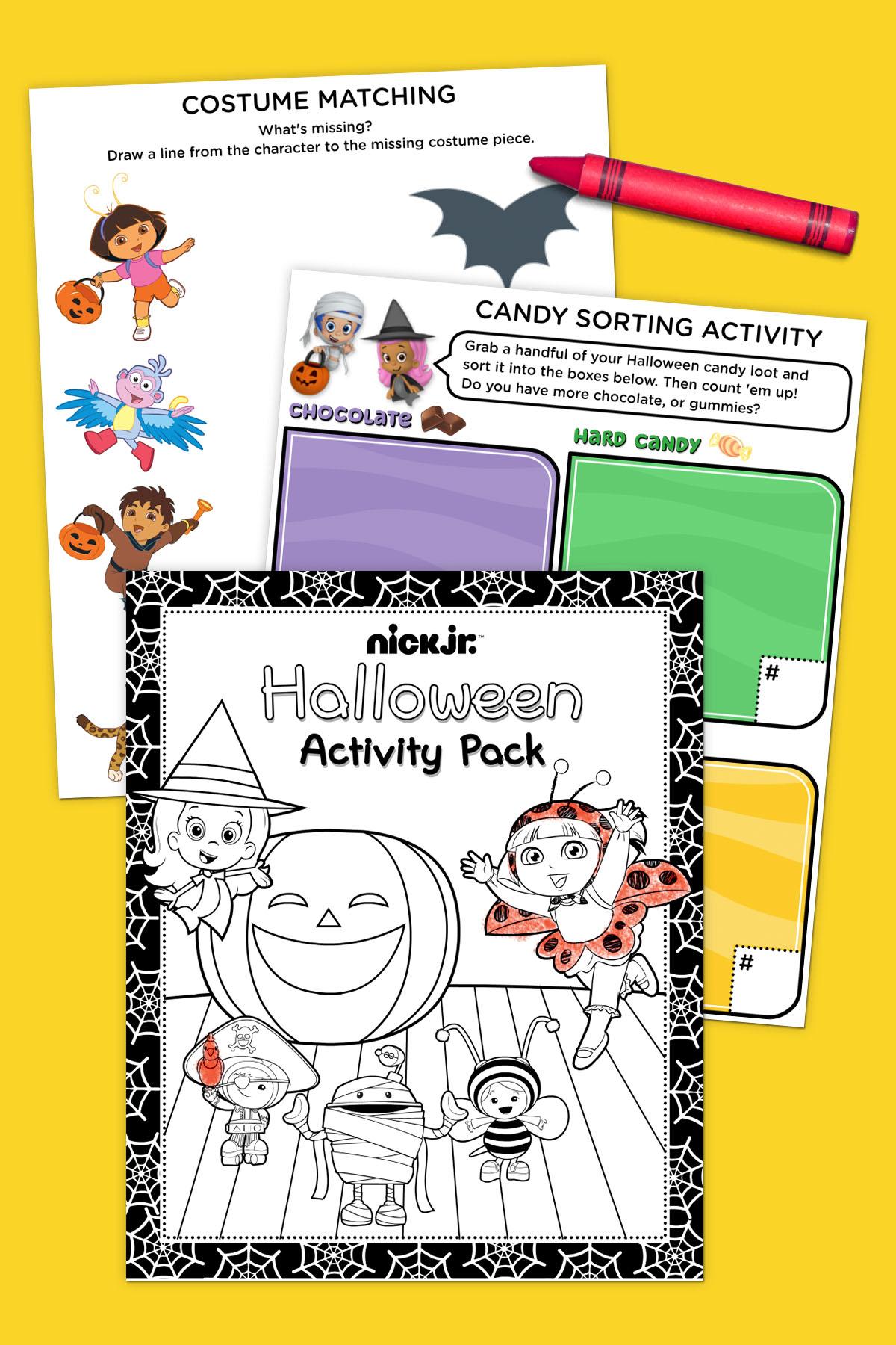 Nick Jr. Halloween Activity Pack | Nickelodeon Parents