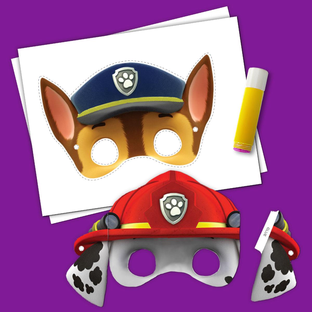 Amazing SaveSave To Pinterest PAW Patrol Halloween Masks