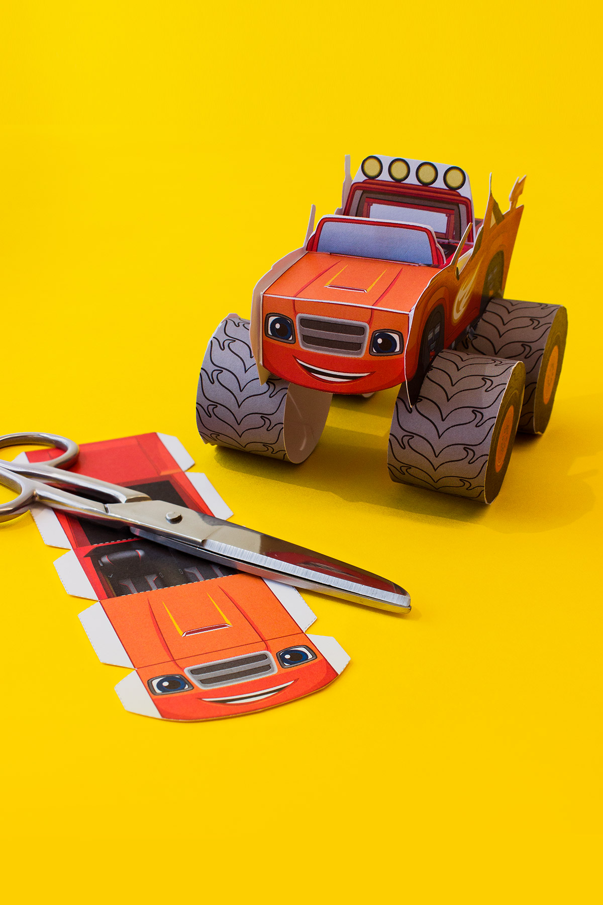 Blaze Vehicle Craft Nickelodeon Parents