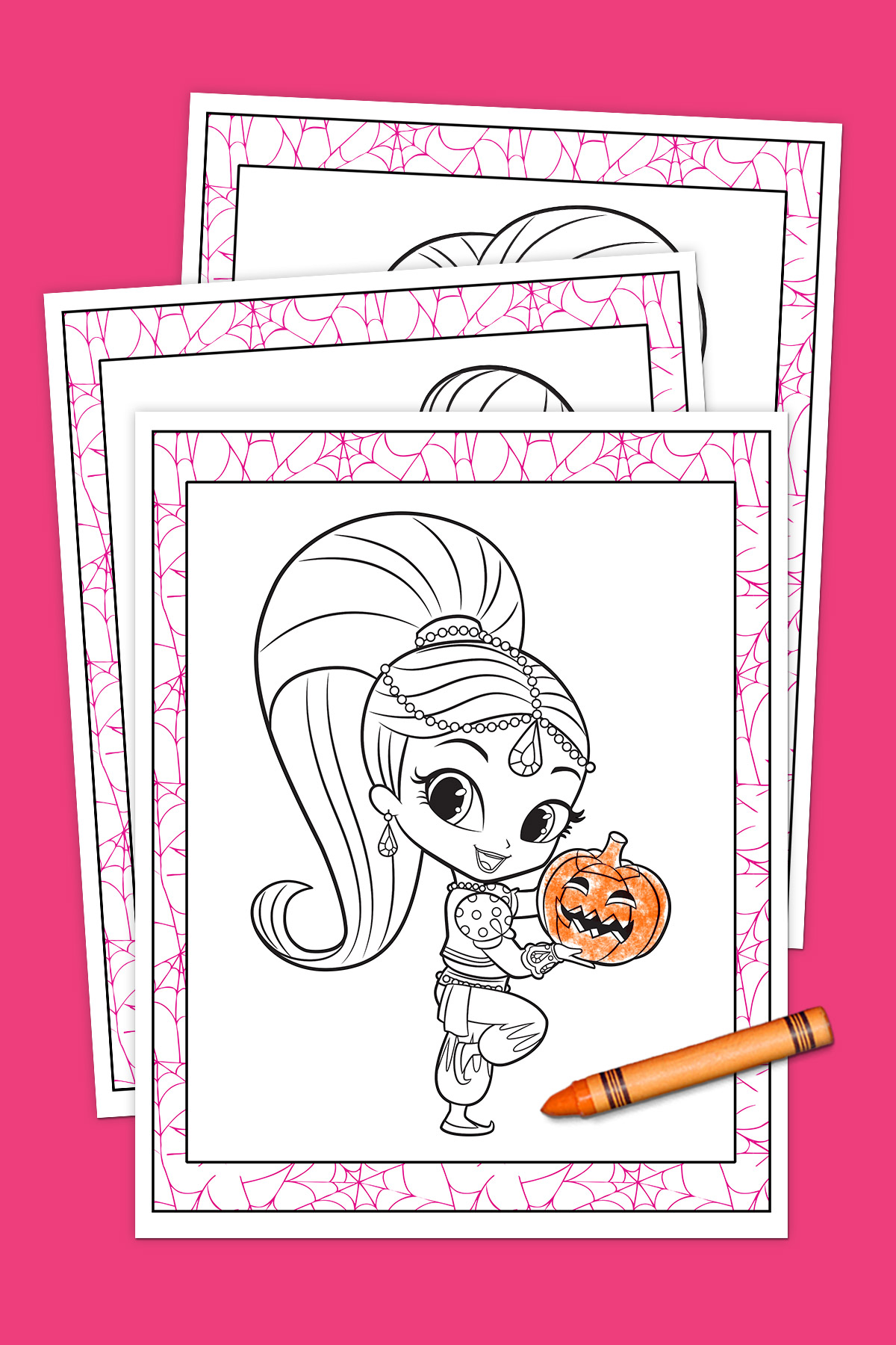 Shimmer and Shine Halloween Coloring Pack | Nickelodeon Parents