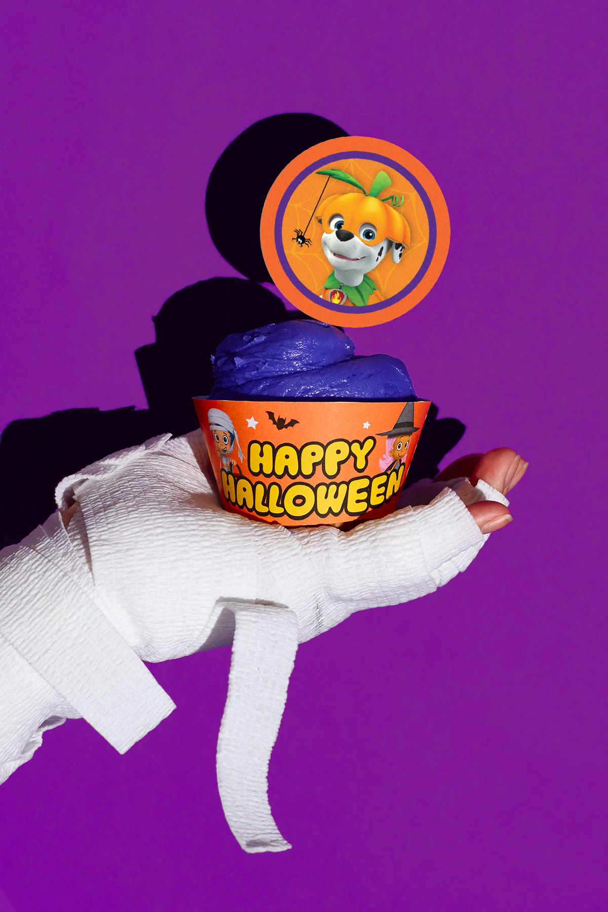 Nick Jr. Halloween Party Cupcake Wrappers & Toppers