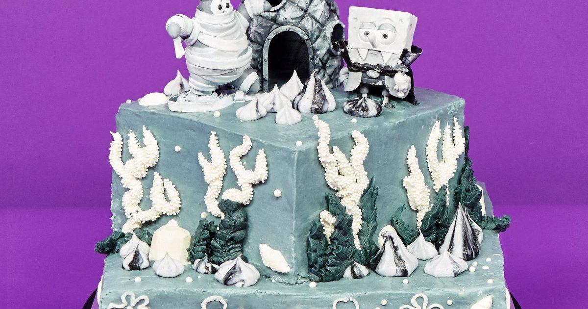 Spooky Spongebob Cake Nickelodeon Parents