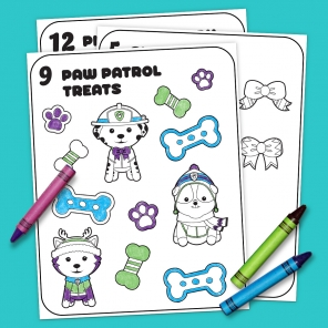 12 Days of Nick Jr. Coloring