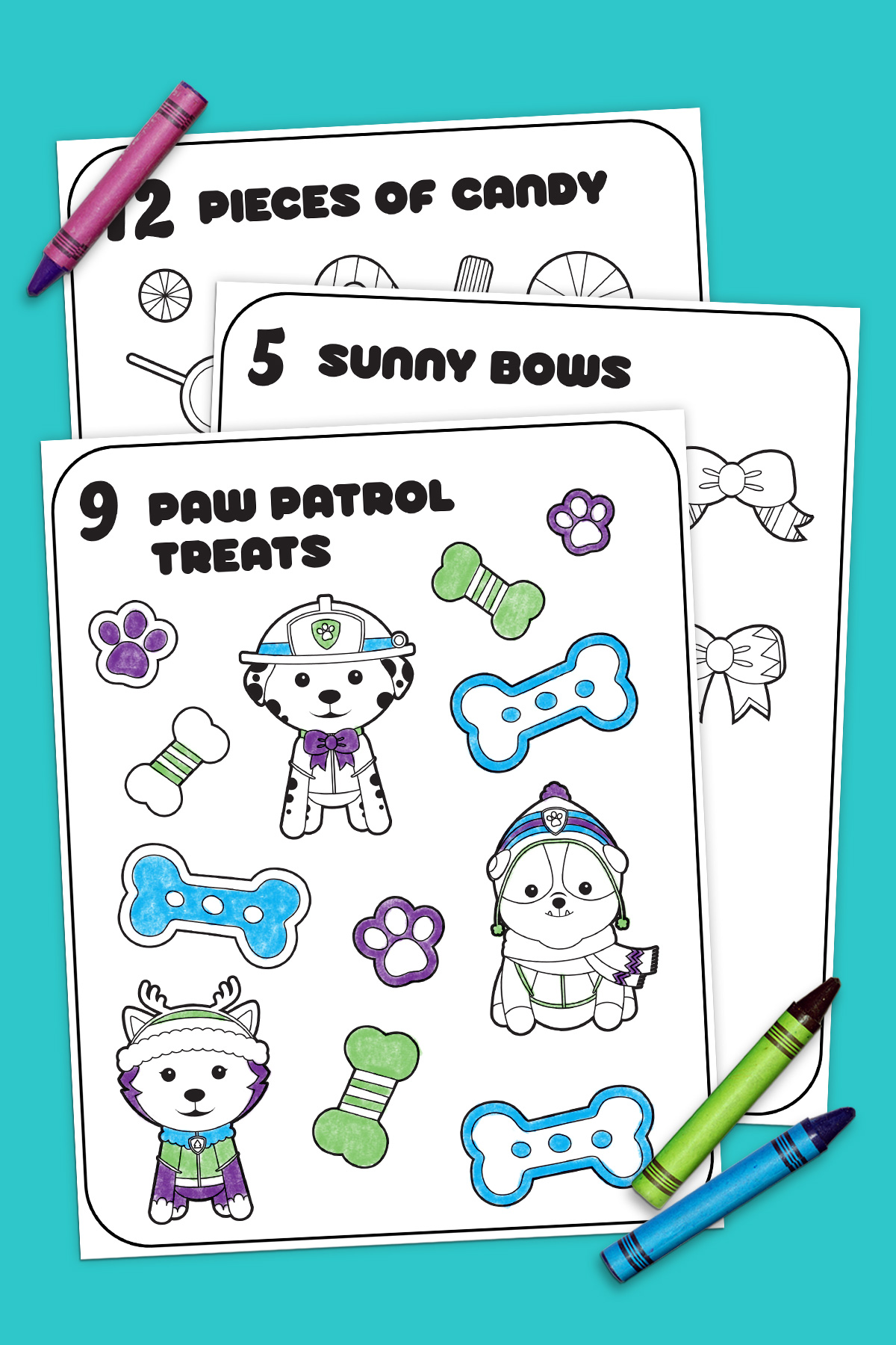 12 Days of Nick Jr  Coloring Book | Nickelodeon Parents