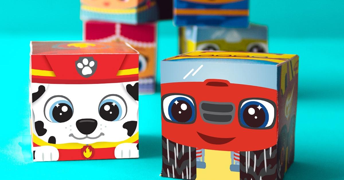 Nick Jr Block Party Printable Craft Nickelodeon Parents