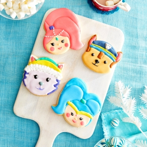 Nick Jr. Inspired Cookie Decor