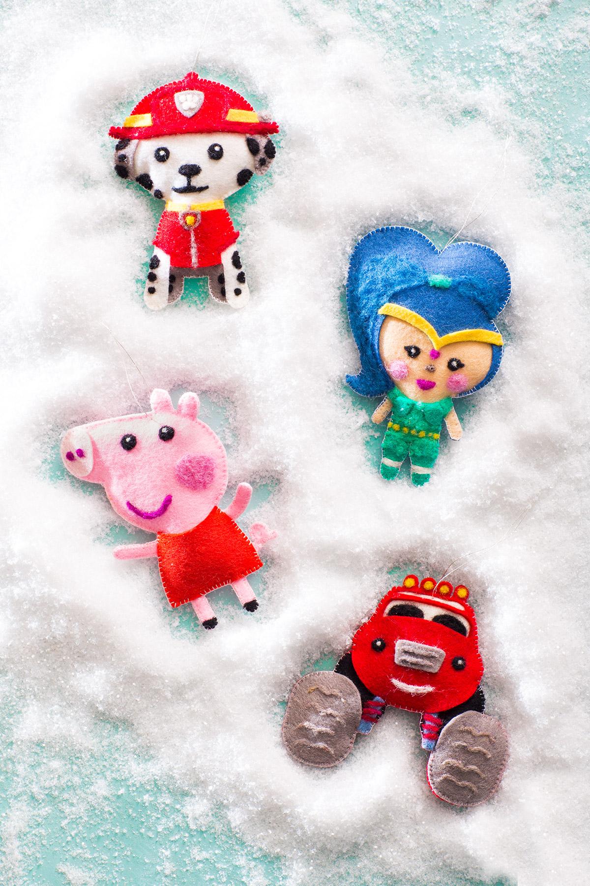 Warm & Fuzzy Ornaments