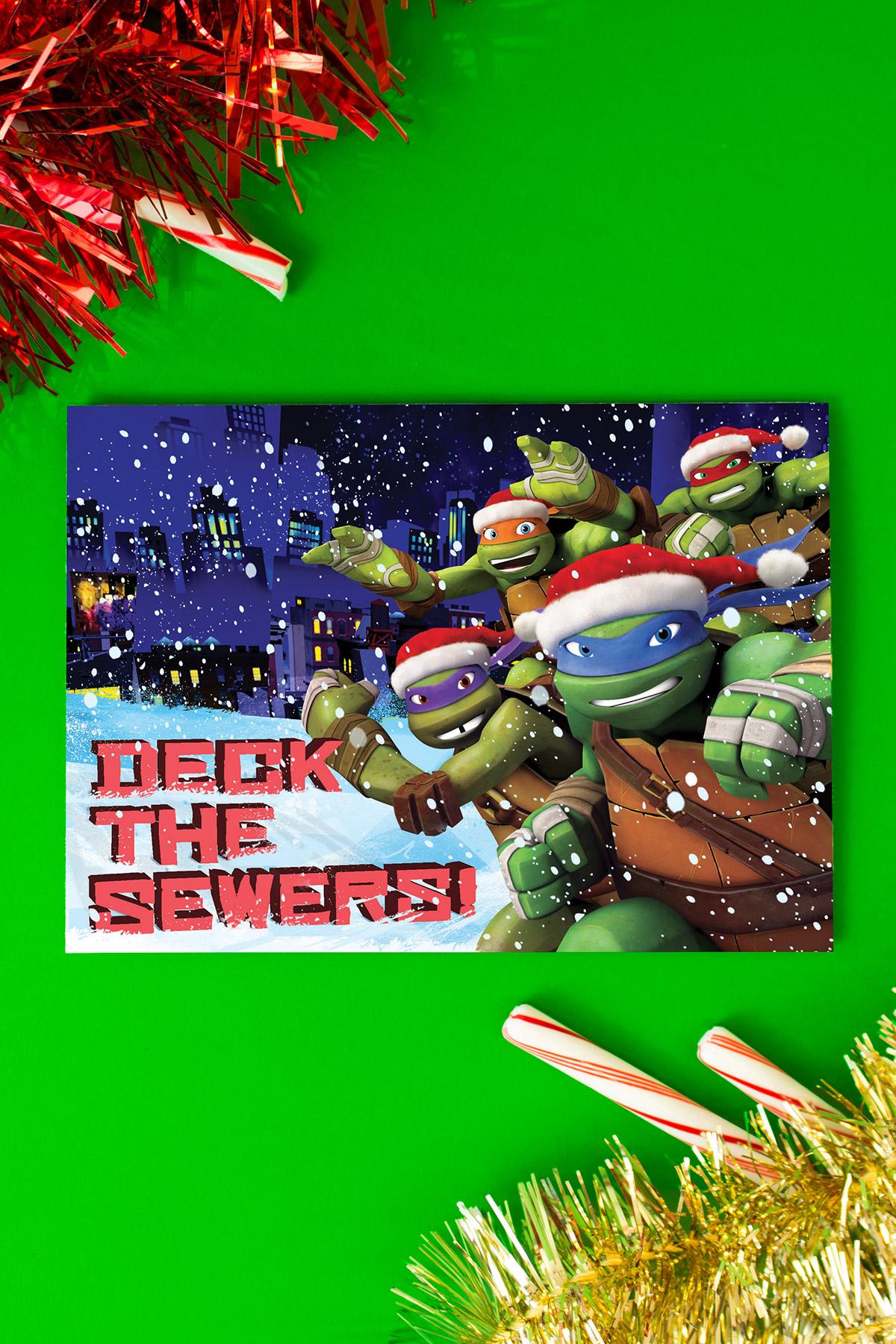 TMNT Holiday Card
