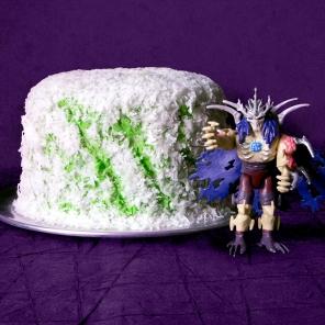 TMNT Super Shredded Snow Cake